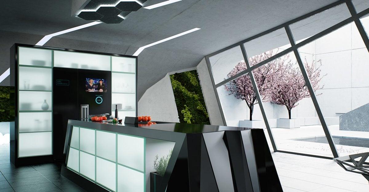 sleek-black-countertop