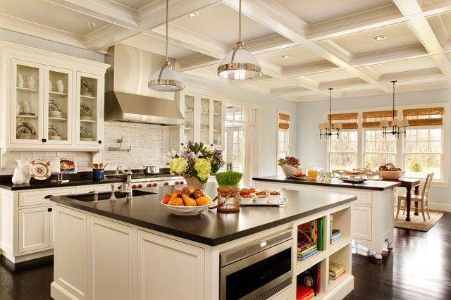 thiet ke nha bep 1 Một số tiêu chuẩn cần lưu ý khi thiết kế nhà bếp. qpdesign