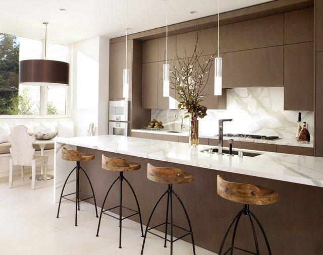 thiet ke nha bep y Một số tiêu chuẩn cần lưu ý khi thiết kế nhà bếp. qpdesign