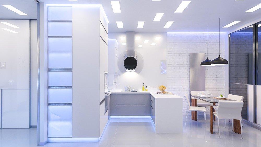 white brick wall 10 mẫu nhà bếp hiện đại cho những người thích nấu nướng (P2) qpdesign