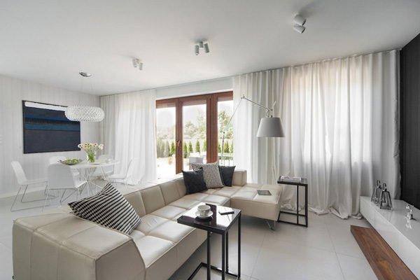 biet thu hien dai 110 Biệt thự phong cách minimalism tại Ba Lan qpdesign
