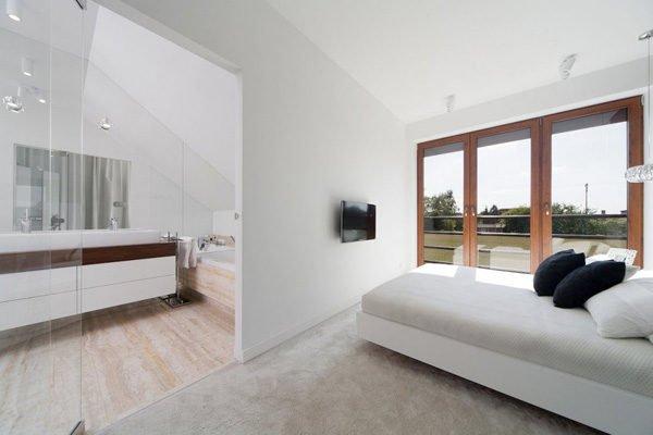 biet thu hien dai 112 Biệt thự phong cách minimalism tại Ba Lan qpdesign
