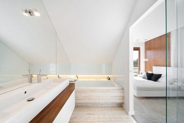 biet thu hien dai 122 Biệt thự phong cách minimalism tại Ba Lan qpdesign