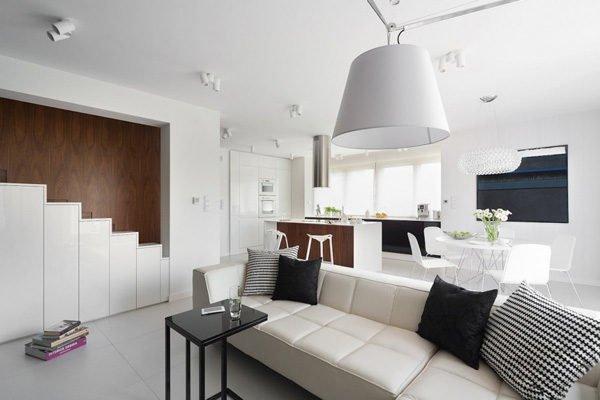 biet thu hien dai 22 Biệt thự phong cách minimalism tại Ba Lan qpdesign