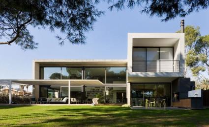 Kiến trúc ấn tượng của biệt thự tại Tây Ban Nha