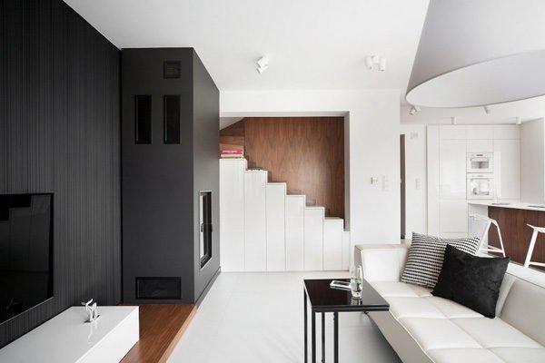 biet thu hien dai 32 Biệt thự phong cách minimalism tại Ba Lan qpdesign