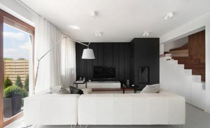Biệt thự phong cách minimalism tại Ba Lan