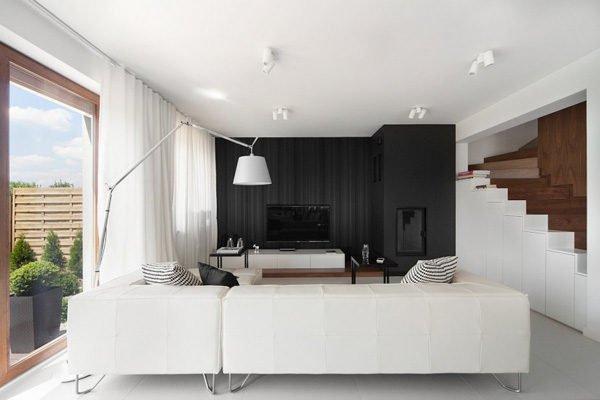 biet thu hien dai 42 Biệt thự phong cách minimalism tại Ba Lan qpdesign