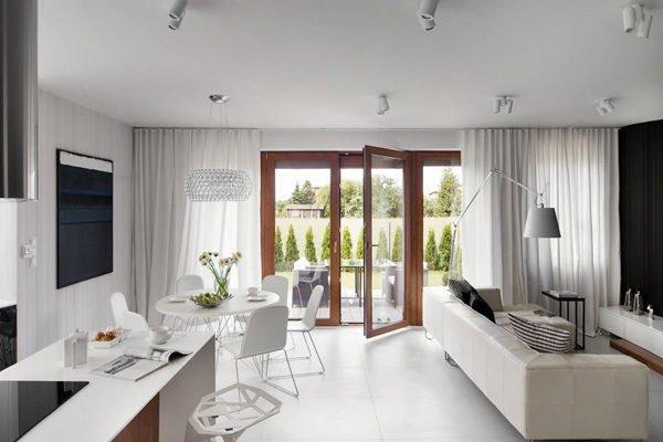 biet thu hien dai 62 Biệt thự phong cách minimalism tại Ba Lan qpdesign