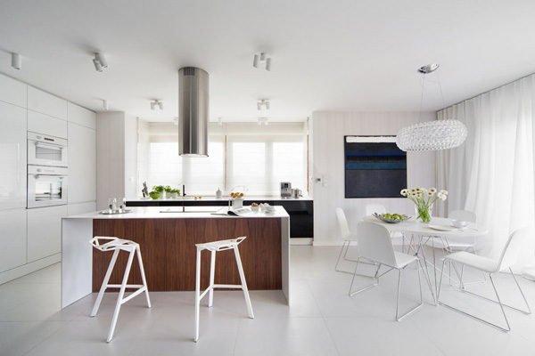 biet thu hien dai 72 Biệt thự phong cách minimalism tại Ba Lan qpdesign