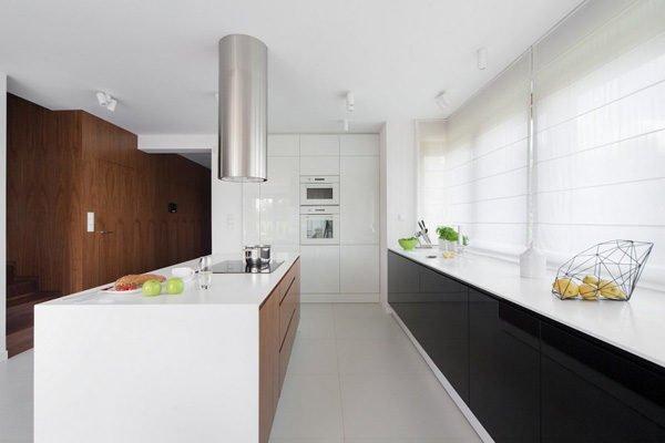 biet thu hien dai 82 Biệt thự phong cách minimalism tại Ba Lan qpdesign