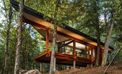 Cabin trong rừng tại Canada : Nơi nghỉ dưỡng lý tưởng