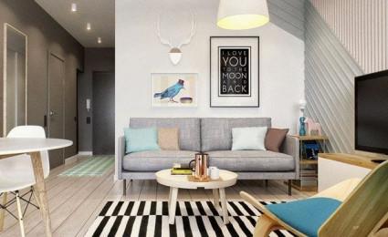 Hai mẫu căn hộ chung cư nhỏ dành cho các cặp đôi