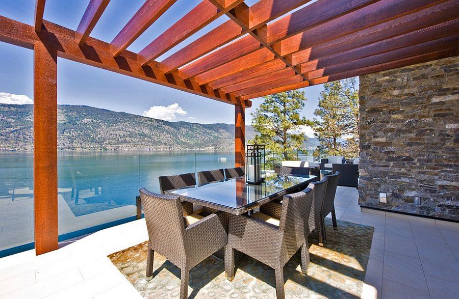 khong gian an uong ngoai troi 12 Thiết kế một không gian ăn uống ngoài trời hoàn hảo qpdesign