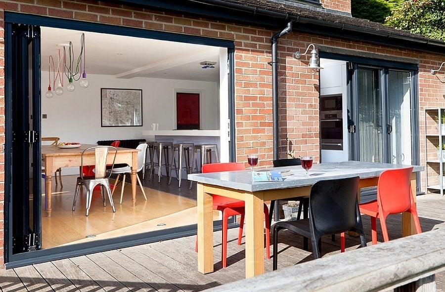 khong gian an uong ngoai troi 3 Thiết kế một không gian ăn uống ngoài trời hoàn hảo qpdesign