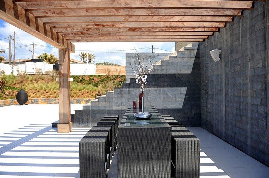 khong gian an uong ngoai troi 5 Thiết kế một không gian ăn uống ngoài trời hoàn hảo qpdesign