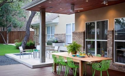 Thiết kế một không gian ăn uống ngoài trời hoàn hảo