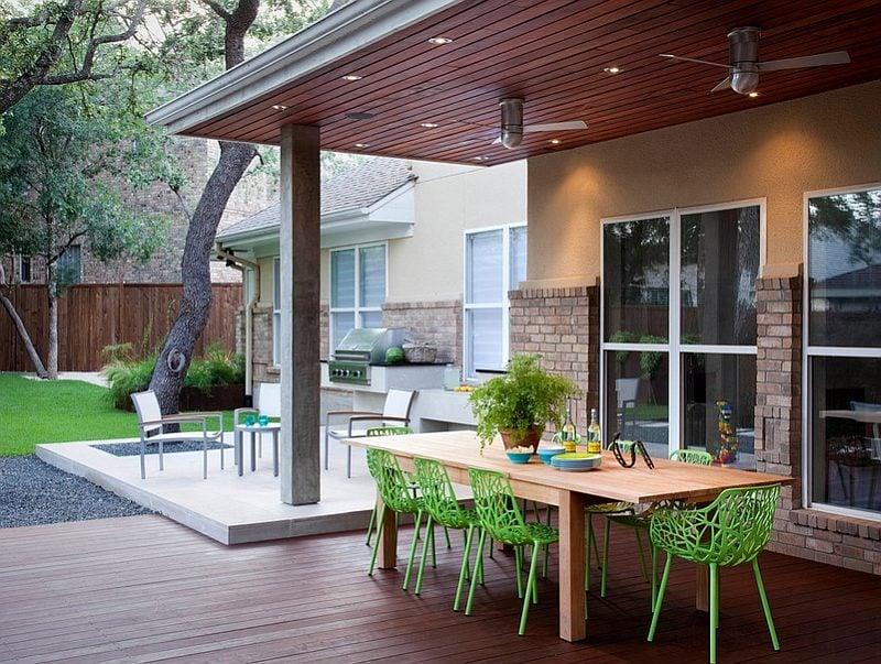 thiết kế một không gian ăn uống ngoài trời 6