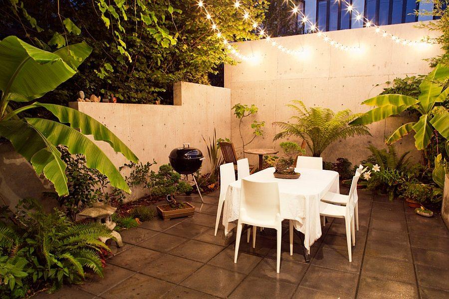 thiết kế một không gian ăn uống ngoài trời 5