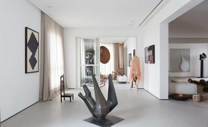 Căn hộ chung cư của người yêu nghệ thuật tại Brazil