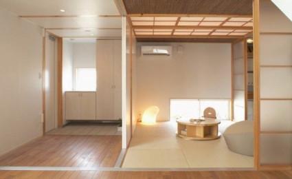 Ngôi nhà phong cách Nhật hiện đại