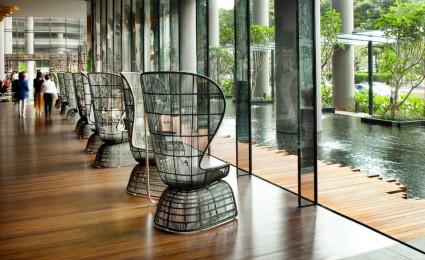 Khách sạn mang kiến trúc xanh ParkRoyal ở Singapore