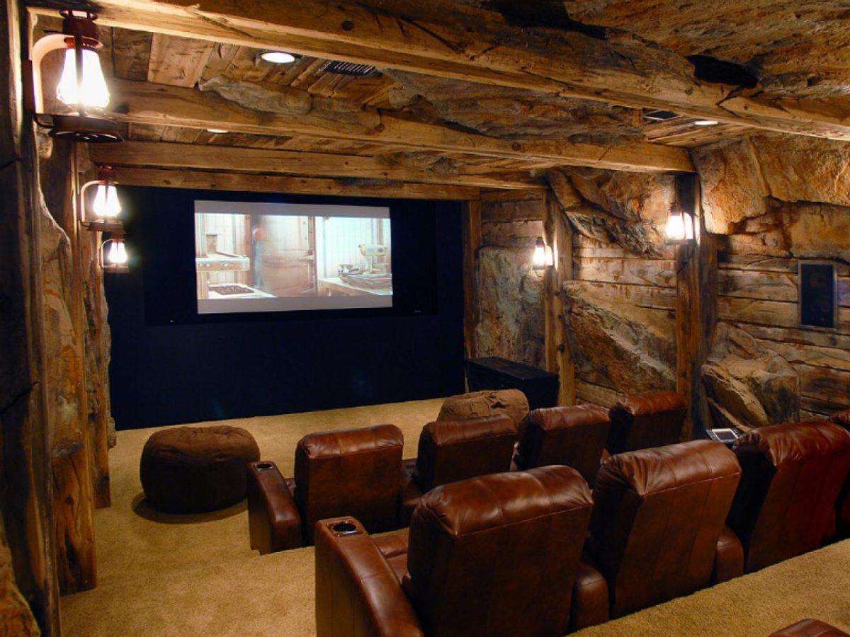 Thiết kế phòng chiếu phim tại gia 5