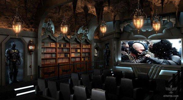 Thiết kế phòng chiếu phim tại gia 4