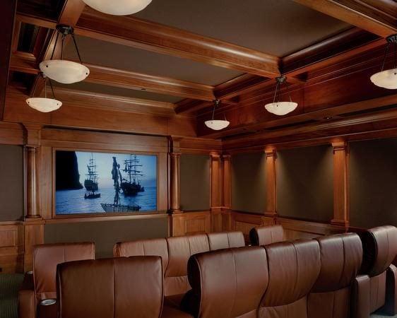 phong chieu phim 4 Thiết kế phòng chiếu phim tại gia qpdesign