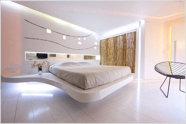 thiết kế phòng ngủ theo phong cách Futuristic 5