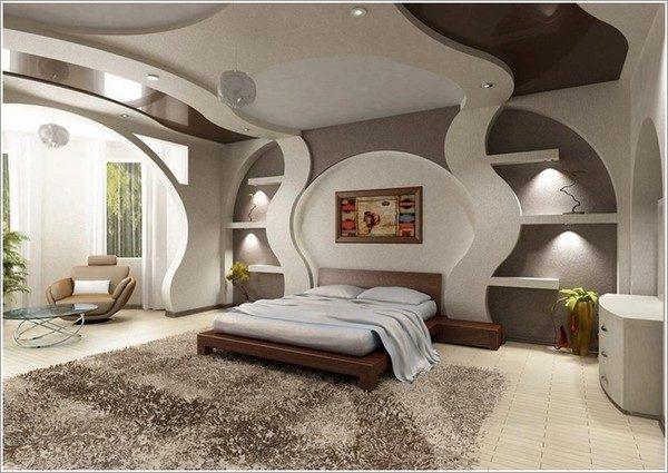 thiết kế phòng ngủ theo phong cách Futuristic 4