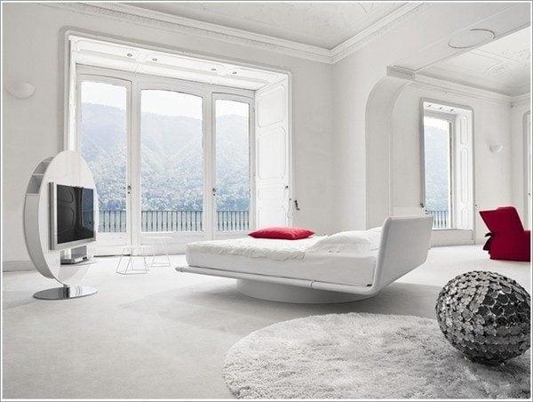 thiết kế phòng ngủ theo phong cách Futuristic 2