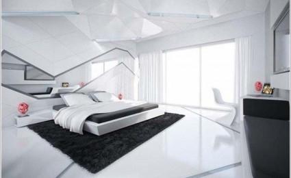 9 mẫu thiết kế phòng ngủ theo phong cách Futuristic