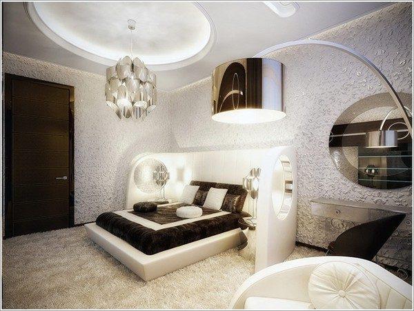 thiết kế phòng ngủ theo phong cách Futuristic 6
