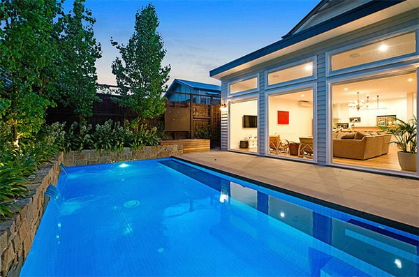 thiết kế xây dựng bể bơi biệt thự