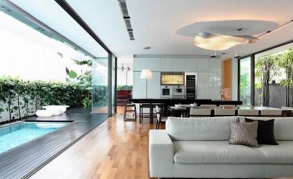 Thiết kế nội thất không gian mở 14