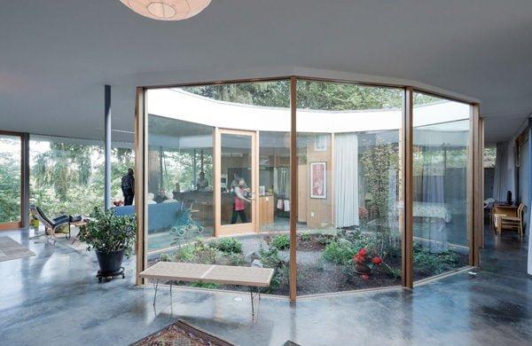 Thiết kế nội thất không gian mở 1