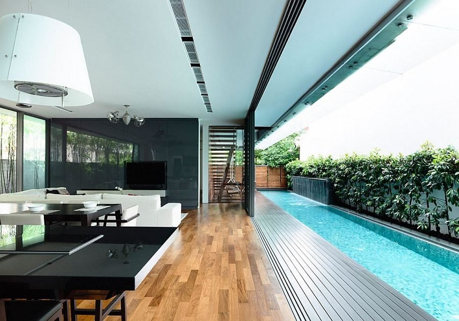 Thiết kế nội thất không gian mở 13