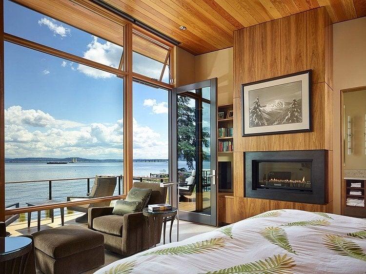 Thiết kế nội thất căn hộ với hướng mở ra biển