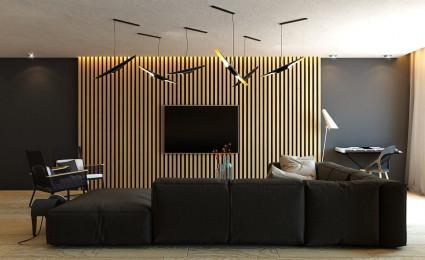 Cách trang trí nội thất với những thanh lam