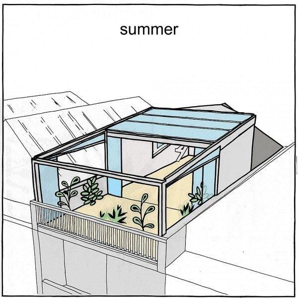 vuon san thuong 15 Khu vườn trên sân thượng giữa thành phố qpdesign