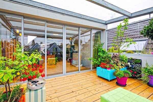 vuon san thuong 2 Khu vườn trên sân thượng giữa thành phố qpdesign