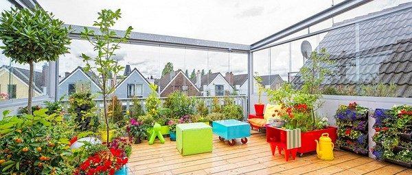 vuon san thuong 5 Khu vườn trên sân thượng giữa thành phố qpdesign