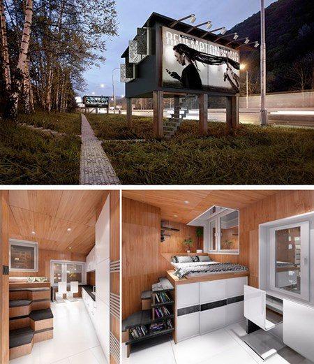 130 Những ngôi nhà mini với thiết kế độc đáo qpdesign