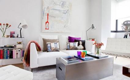 Nội thất đầy màu sắc của căn hộ chung cư tại Tây Ban Nha