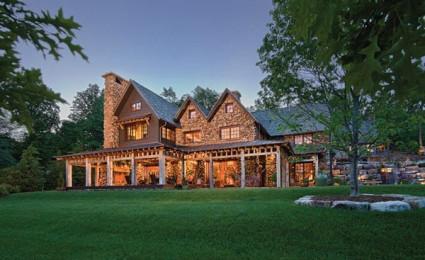 Biệt thự nghỉ dưỡng phong cách rustic