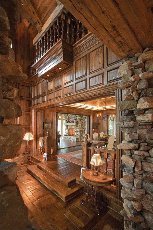 biệt thự nghỉ dưỡng phong cách rustic 11