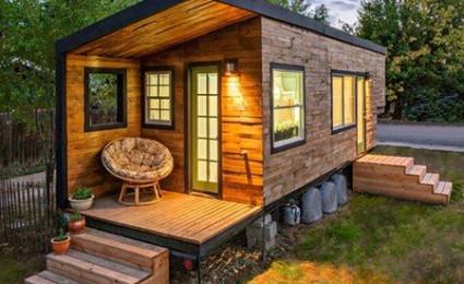 """Những """"ngôi nhà mini"""" với thiết kế độc đáo"""
