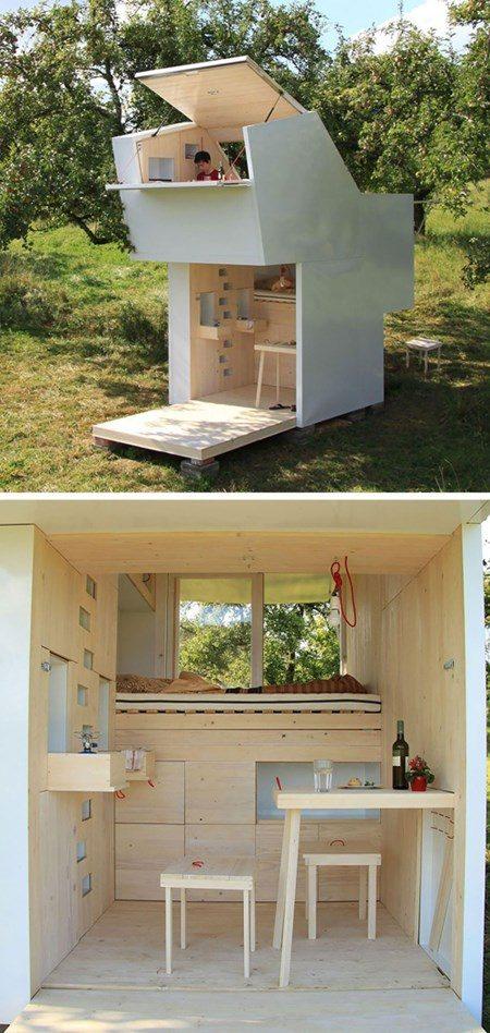 813 Những ngôi nhà mini với thiết kế độc đáo qpdesign