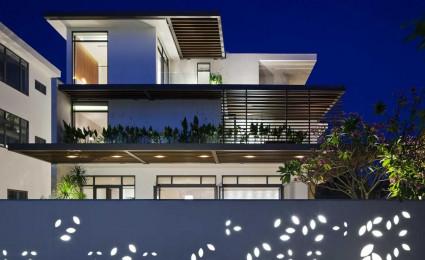 Indochina Villa – Biệt thự đẹp lung linh giữa Sài Gòn